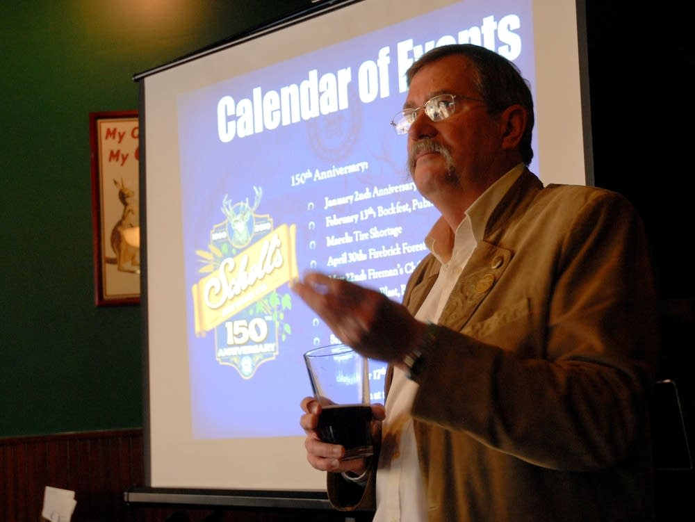 Ted Marti, owner of Schell's Brewery