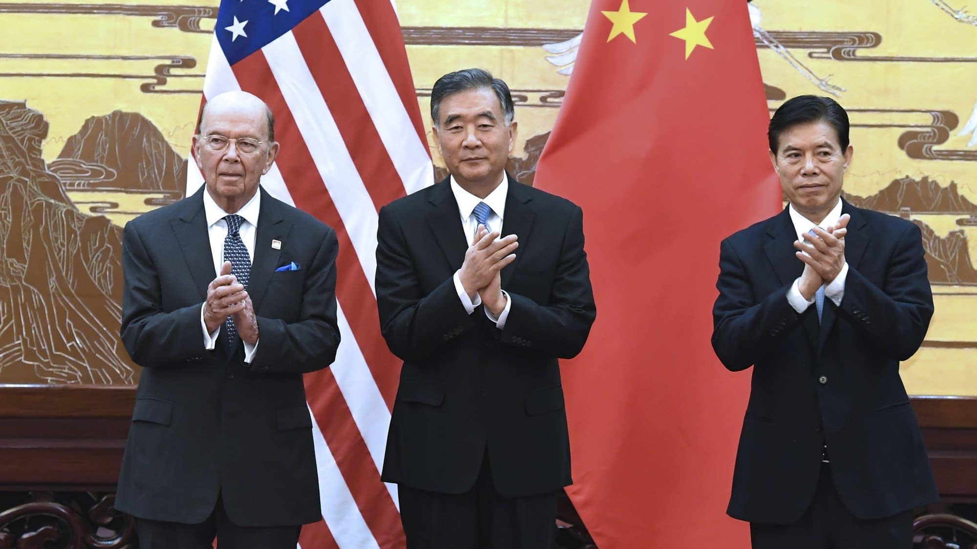 Wilbur Ross, Wang Yang, Zhong Shan