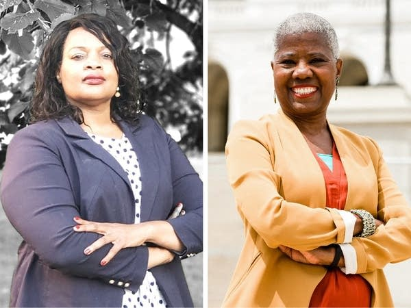 Left: Alberder Gillespie | Right: Laverne McCartney Knighton