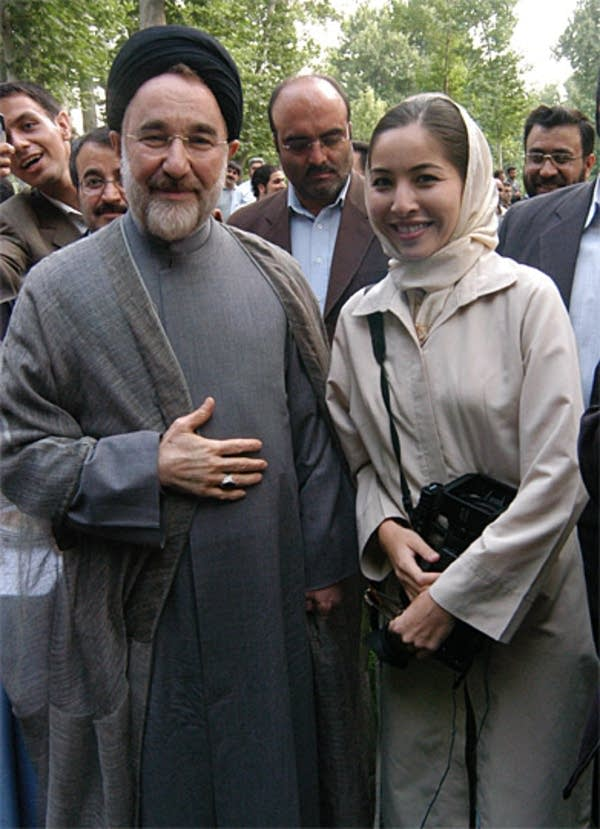 Saberi in Iran
