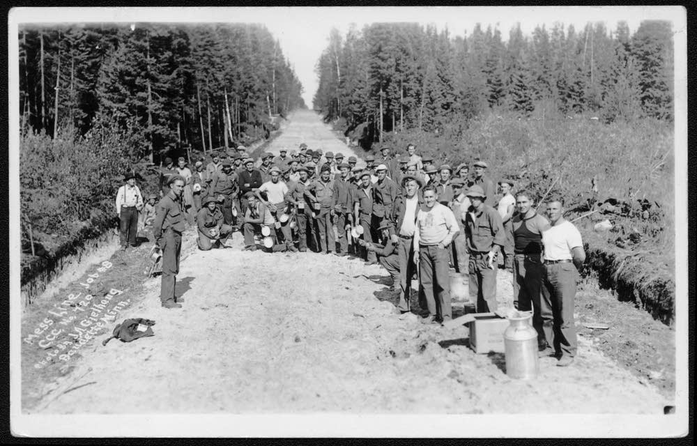 Civilian Conservation Corps workers