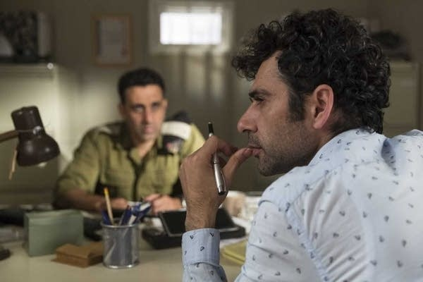 "A screen capture of a new comedy movie, ""Tel Aviv on Fire"""