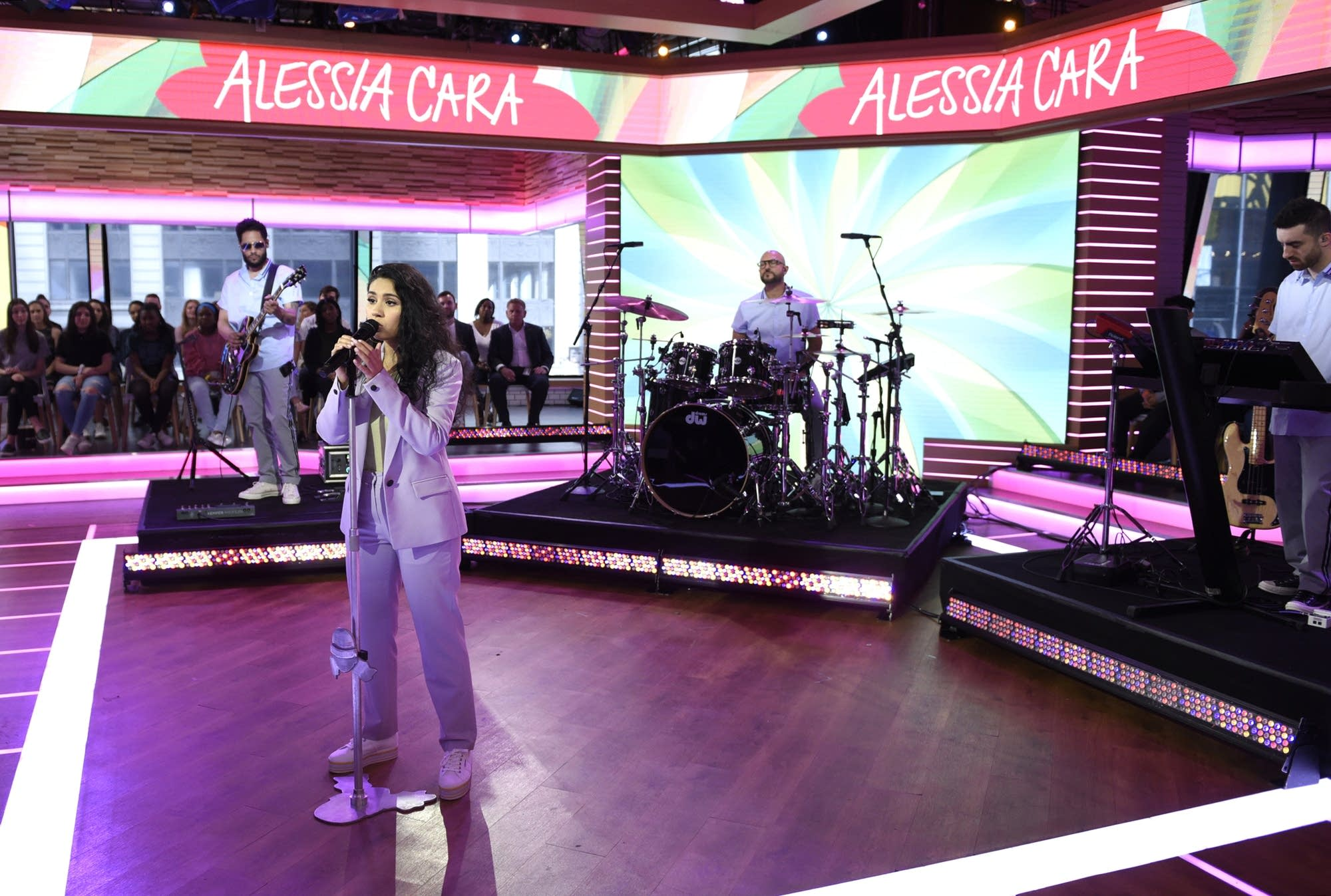 Alessia Cara performs on ABC's 'Good Morning America'