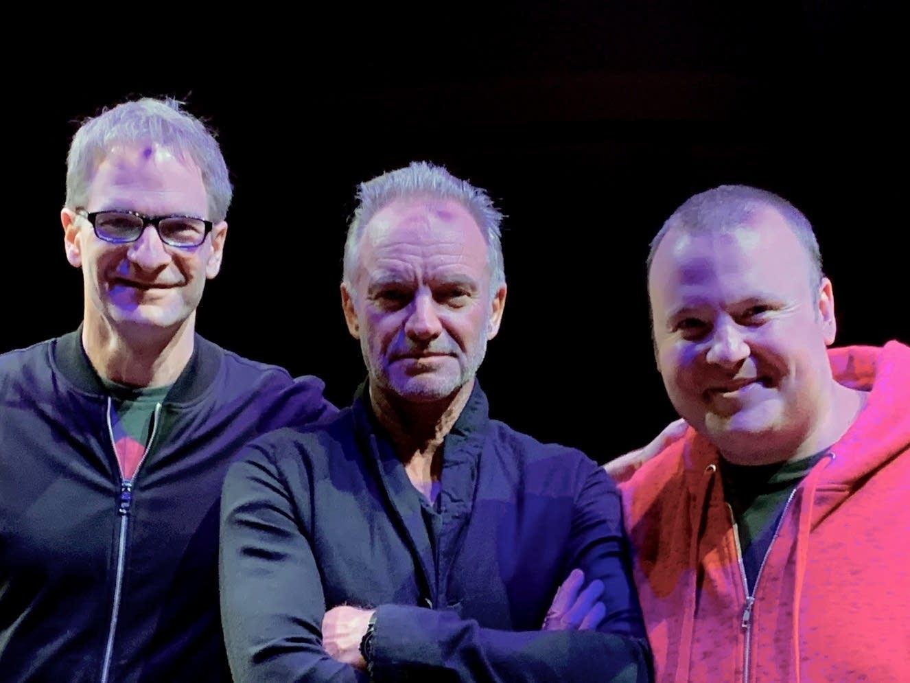 Jim McGuinn, Sting, Sean McPherson
