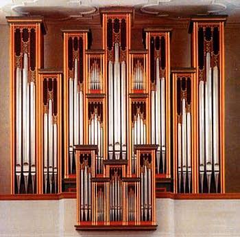1987 Rieger organ at the Church of Saint Martin, Wangen-Allgäu