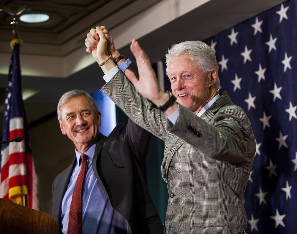 Rick Nolan, Bill Clinton