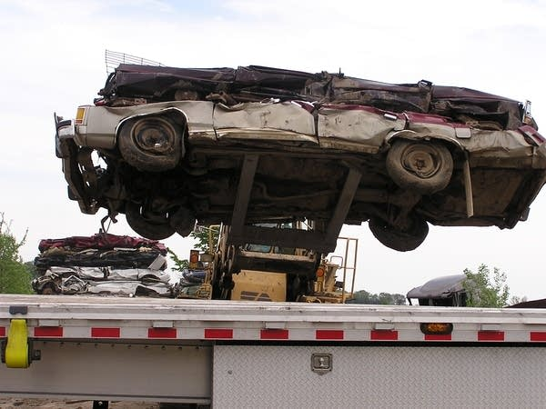 Scrap Metal Prices Cars >> High Scrap Prices Are A Mixed Blessing Mpr News