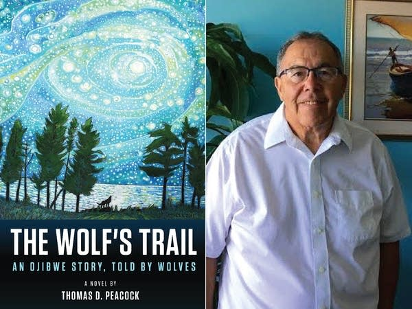 """""""The Wolf's Trail"""" by Thomas  D. Peacock."""