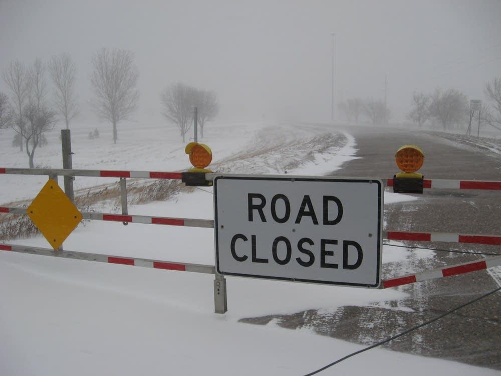 I-94 closed