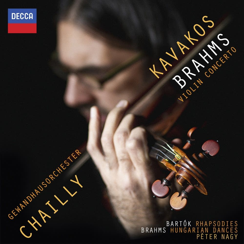 leonidas kavakos brahms violin concerto album
