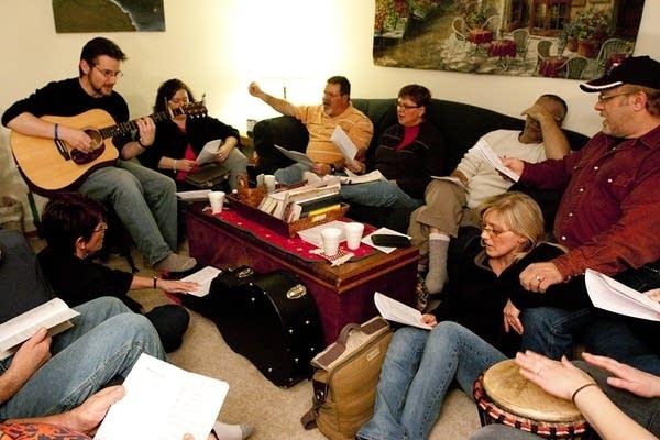 Home church group