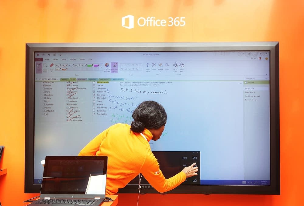 Microsoft Launches Office 2013 In New York's Bryan