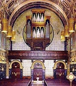 1983 Casavant organ at Saint Clement's Church, Chicago, IL