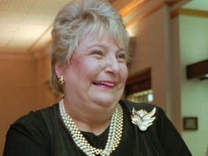 Former talk show hostess and gubernatorial ex-wife Barbara Carlson.