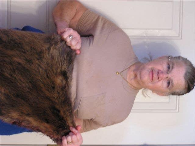 Kay Bachman, beaver lady