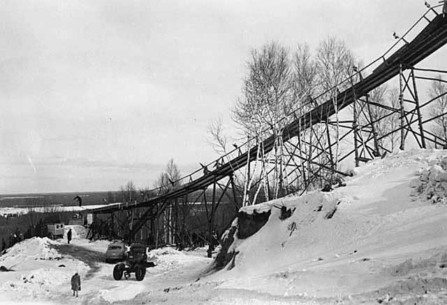 Maple Hill ski jump