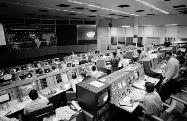 Mission Operations Control Room