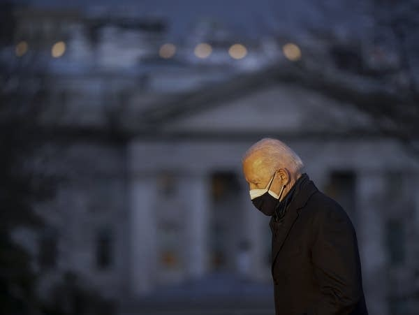 President Joe Biden returns to the White House