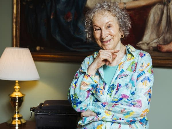 Author Margaret Atwood poses for a portrait