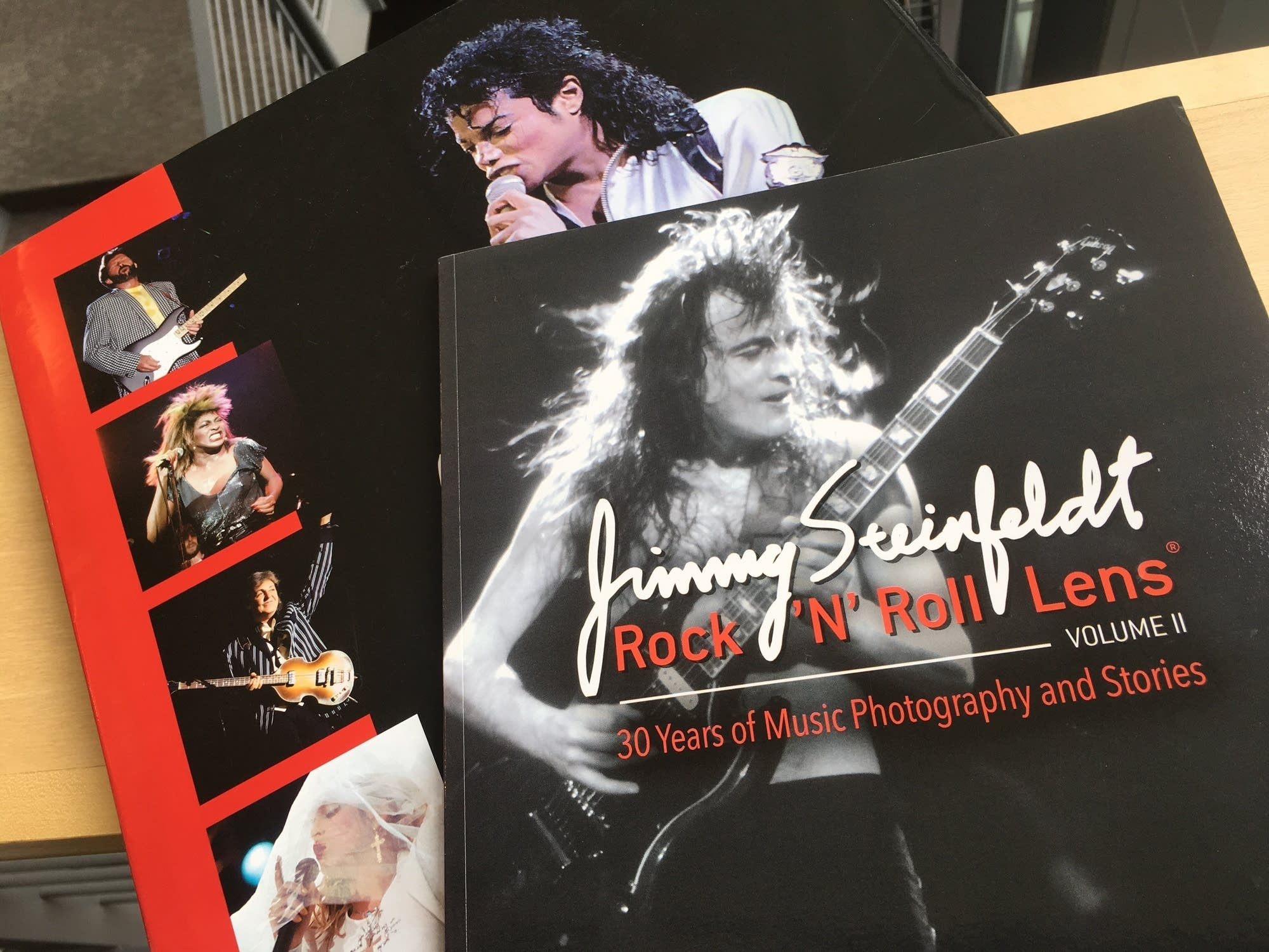 Jimmy Steinfeldt's two volumes of 'Rock 'N' Roll Lens'