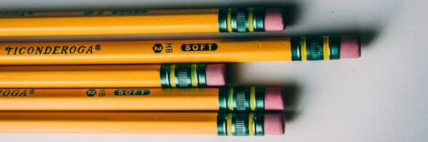 A group of pencils