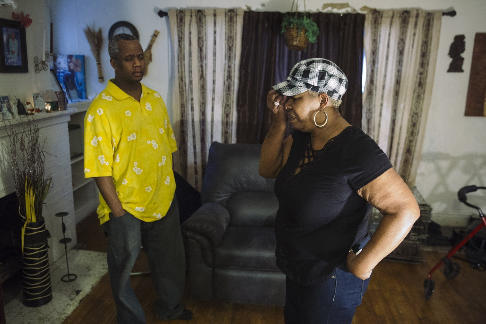 Patricia and Maurice Gant discuss their living situation.
