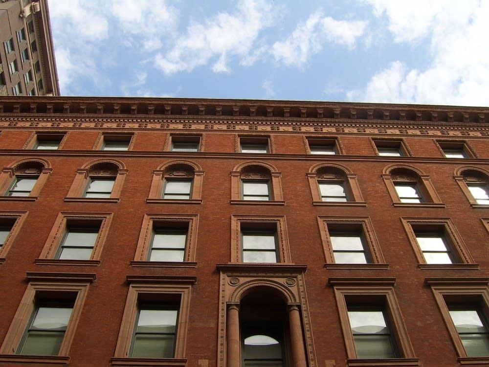 Endicott facade