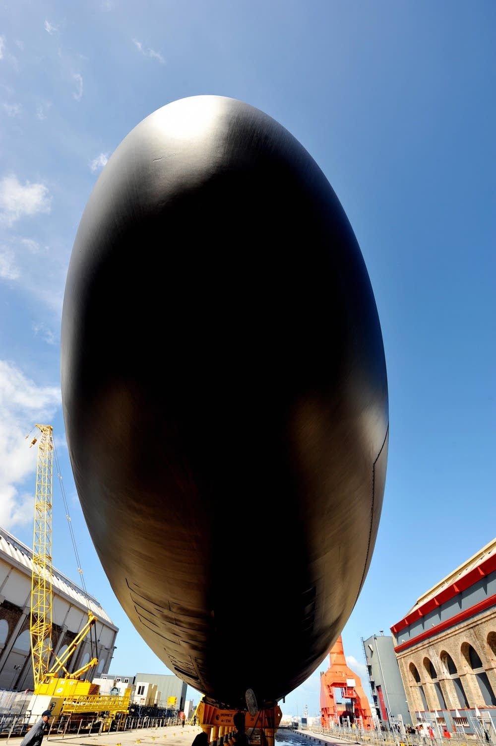 The new generation nuclear submarine