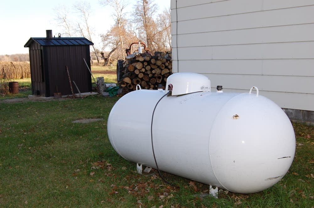 Propane tanks low or empty