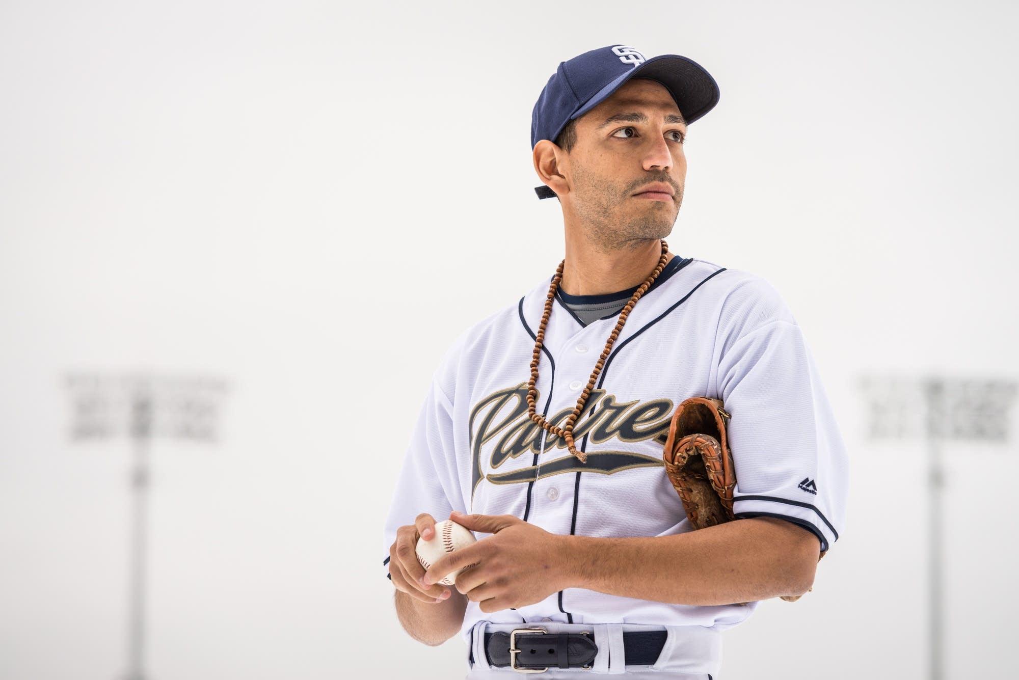 Christopher Rivas plays Victor Castillo, a Dominican pitcher