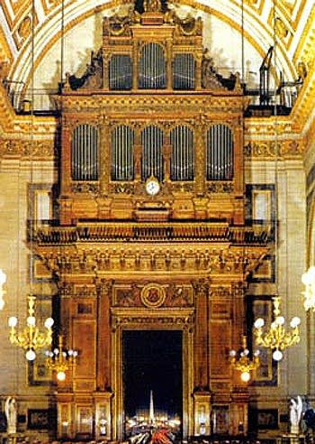 1845 Cavaillé-coll organ, revised, at La Madeleine in Paris, France