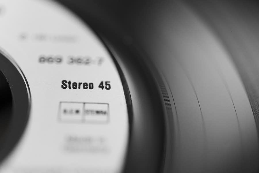 Stereo 45 record