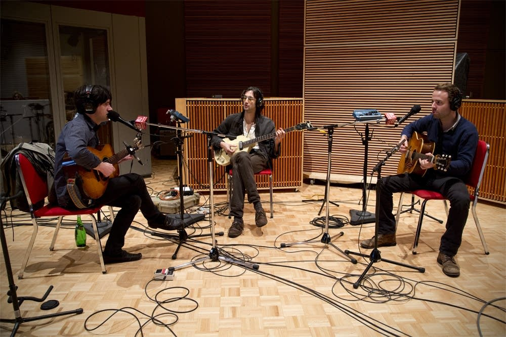 conor oberst and dawes in studio 1