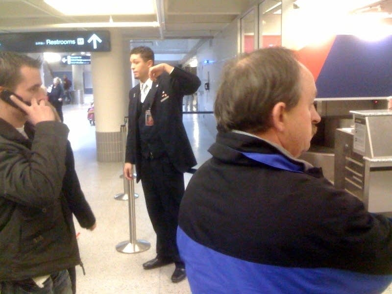 Airport evacuation