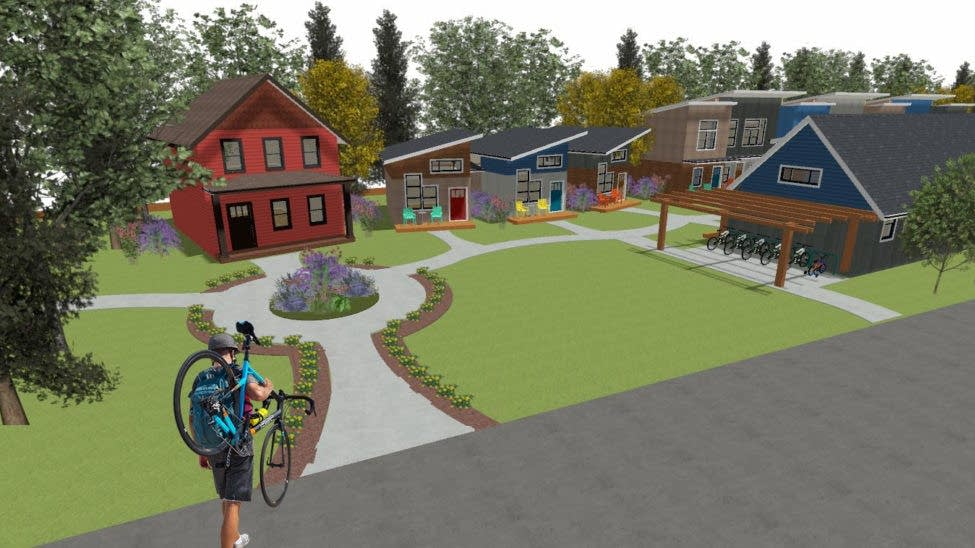 Could St  Paul's east side get a tiny house village?   MPR News