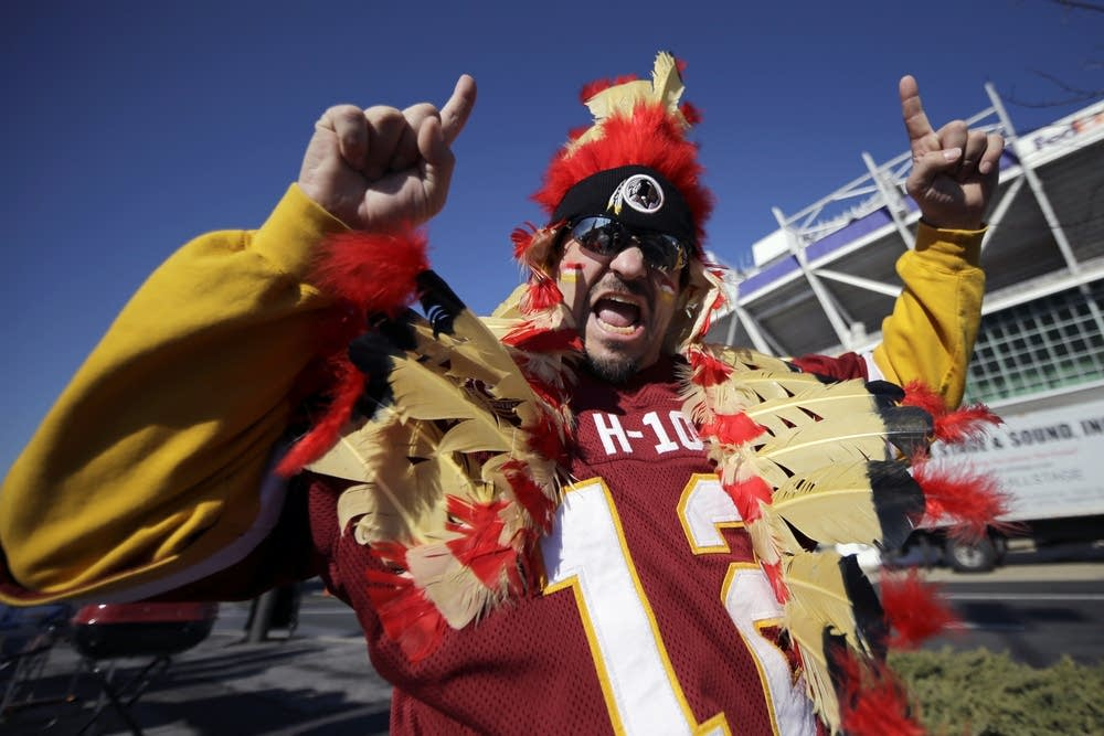 Redskins fan