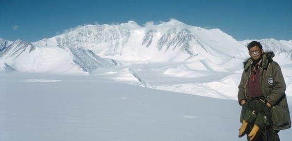 John Splettstoesser in Antarctica