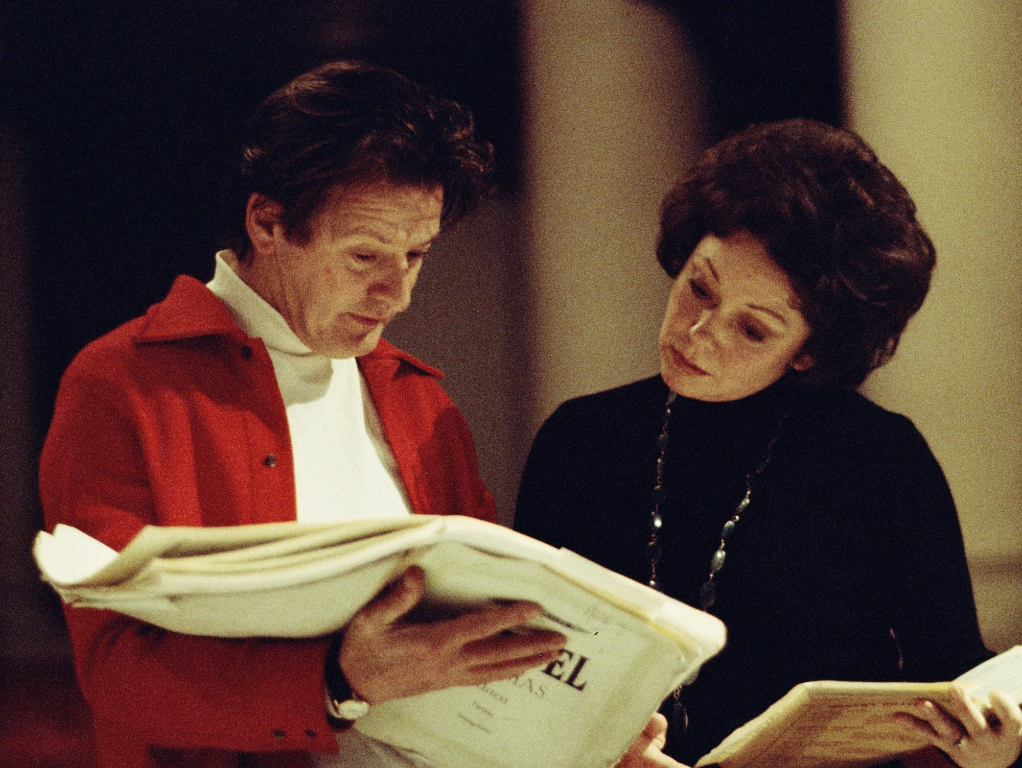 Neville Marriner, soprano Sheila Armstrong