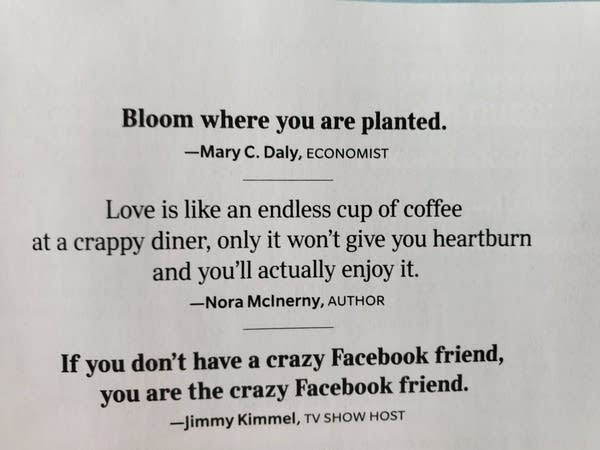 Nora McInerny's Quotable Quote in Reader's Digest
