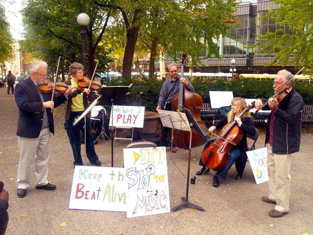 Saint Paul Chamber Orchestra musicians