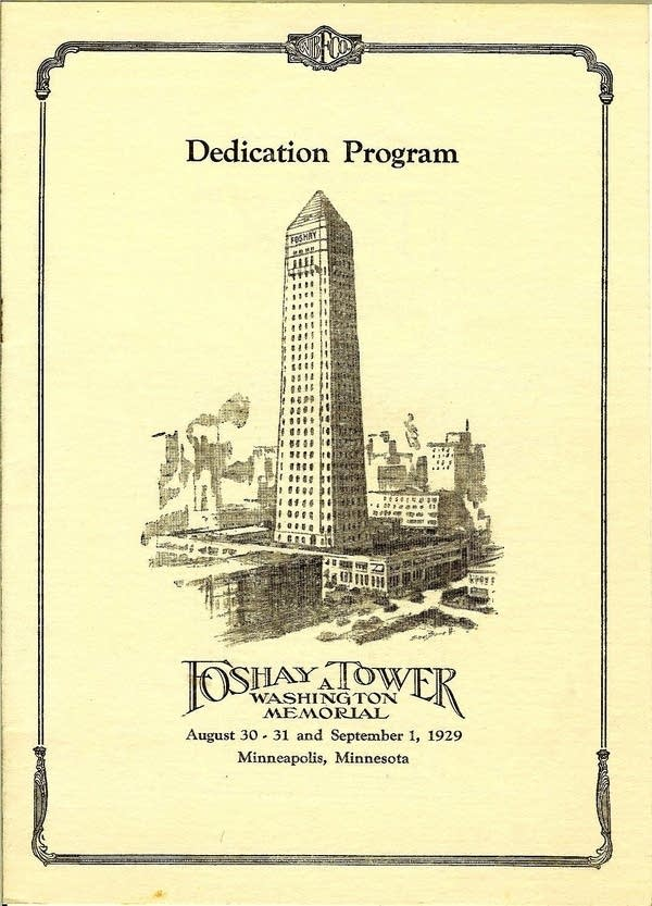 Foshay Tower Dedication Program