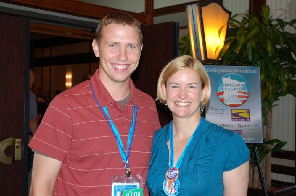 Valerie Coit of Wrenshall and Sam Scott of Andover