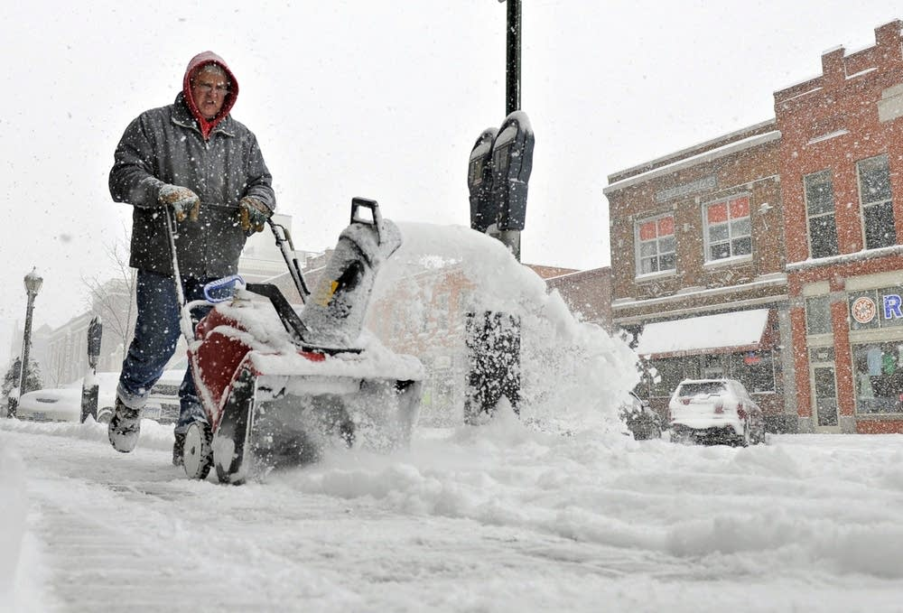 Digging out in St. Cloud