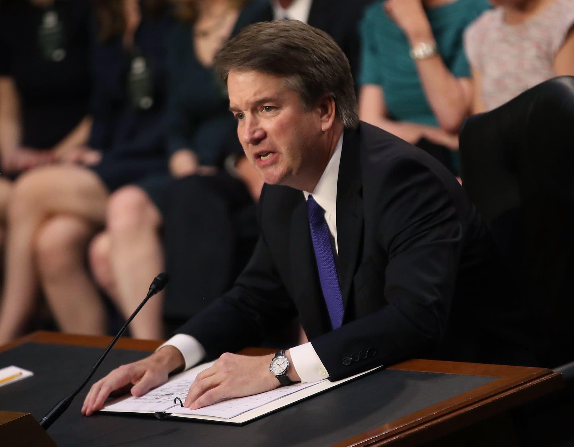 Supreme Court nominee Judge Brett Kavanaugh.