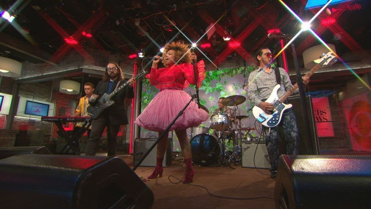 Seratones performing on CBS This Morning: Saturday Sessions