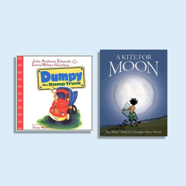 Julie's Library: Dumpy the Dumptruck and A Kite for Moon