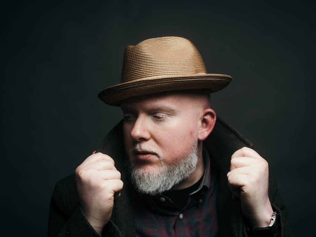 Brother Ali in The Current's studios