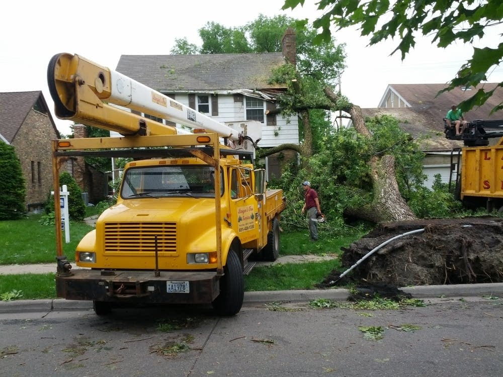 Cleanup in St. Paul