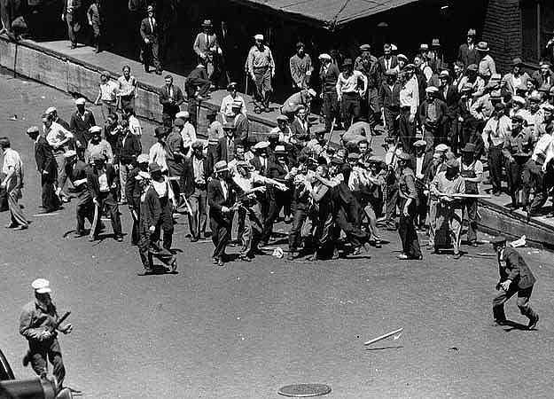 The 1934 Minneapolis truckers strike