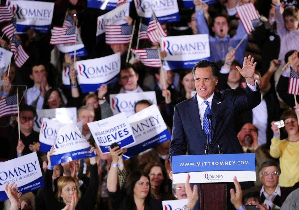 Mitt Romney on Super Tuesday